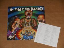 "NO TIME TO PANIC punk hardcore LP 7"" NEW rhythm collision nofx squirtgun derozer"