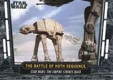 Star Wars 40th Anniversary Base Card #27 The Battle of Hoth