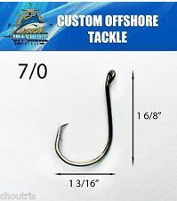 1000 BULK Size 7/0 Custom Offshore Tackle Offset Circle Fishing Hooks 7384