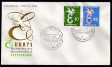 EUROPA CEPT FDC 1958 ALLEMAGNE 1