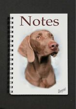 JOTTER-NICE LITTLE GIFT FOR DOG LOVER WEIMARANER A6 NOTEBOOK NOTEPAD