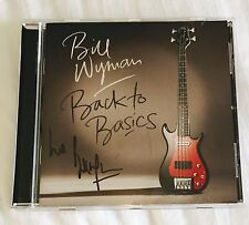 Bill Wyman The Rollings Stones Signed Autographed CD -Jagger Richards Wood Watts