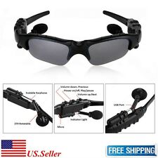 Wireless Bluetooth SunGlasses Stereo Headset Headphones With Polarized lenses