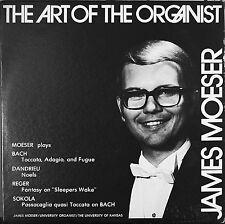 JAMES MOESER: The Art of the Organist-NM LP University of Kansas