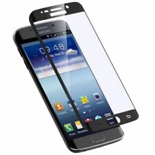 Samsung Galaxy S7 EDGE -Curved 5D Screen Protector Tempered Glass- BLACK