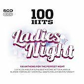 Various Artists - 100 Hits - Ladies Night (2011)  5CD  NEW/SEALED  SPEEDYPOST