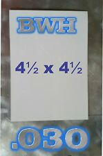 "White Aluminum Dye Sublimation PHOTOGRAPHY PANELS /  4.5"" X 4.5"", blanks, signs"