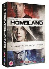 HOMELAND SERIES 1-3 COMPLETE DVD BOX SET SEASONS 1 2 3 NEW