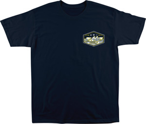 FMF Racing Invisible T-Shirt Medium Navy