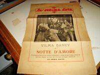 rivista LA SETTIMA ARTE anno V° N. 5 - MAGGIO 1927 V.. BANKY NOTTE D'AMORE