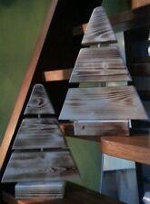 Weihnachtsbaum aus Holz - Fensterdekoration - 33 cm hoch, 24 cm breit