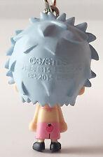 Gintama Bean Eyes Mascot PVC Keychain SD Figure ~ Gintoki Sakata (Type F) @49627