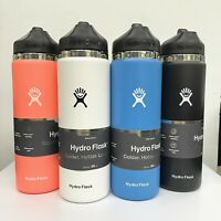 Hydro Flask 20oz Water Bottle with Straw Lid, Wide Mouth,2.0 New Design