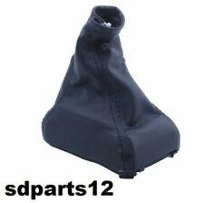 Soufflet Levier Vitesse avec Cadre Cuir Noir Pour Opel Corsa C Tigra B Combo C