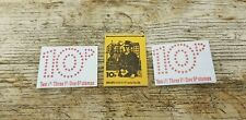 3 x 1976 Issue 10p Royal Mail Great Britain Postage Stamp Booklets