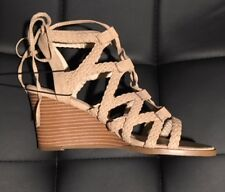 forever 21 shoes wedge/low, style name co-shabu shabu color nude size 6