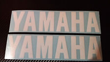 2 x YAMAHA Decals Stickers for wheels,panels