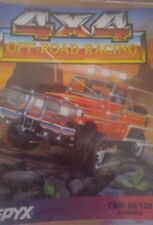4 x 4 Off-Road Racing (Epyx) C 64 Cassette (Tape) (Game, Box)