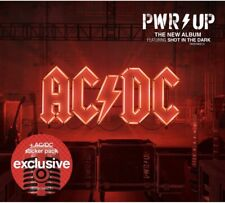 AC/DC Pwr Power Up 2020 Cd Target Exclusive AC DC Sticker Pack Rock Metal