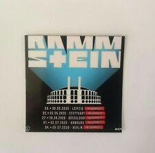 Rammstein Europe Stadium Tour 2020 Kühlschrank Magnet