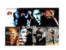 24 ~ Complete Series ~ Season 1-8 (1 2 3 4 5 6 7 & 8) ~ BRAND NEW DVD SETS