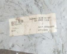 "Concrete Pump Aluminum Plate Cover 1.22"" OEM # 10061079 (Lot of 2)"