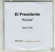 (D309) El Presidente, Rocket - DJ CD