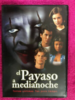 EL PAYASO DE MEDIANOCHE DVD CHRISTOFER PLUMMER MARGOT KIDDER JAMES DUVAL ESP ING