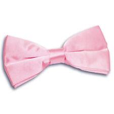 Cravates, foulards et ceintures de cérémonie nœuds papillons roses pour homme