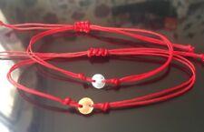 Gold & Silver  Red Thread Protection Evil Eye Handmade Bracelet Lot