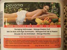5kg Pevonia anti-envejecimiento Sal Scrub saltmousse 176oz Mango & curubo RRP £ 500