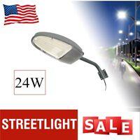 24w Outdoor LED Street Light 2000LM Waterproof road lamp Security Flood Lighting