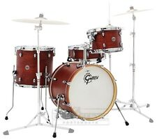 Gretsch Catalina Club 3 Piece Drum Set With 20 BD - Satin Walnut Glaze