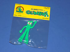 "New Gumbitty Gumby Official Fan Club 3"" Gumby Figure 2001 Prema Toy Flexible"