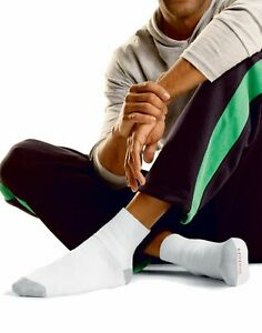 Hanes Men`s Big & Tall Ankle Socks