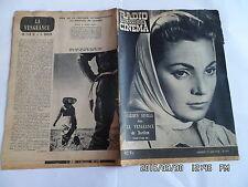 RADIO TELEVISION CINEMA N°441 29/6/1958 CARMEN SEVILLA JEAN GABIN  G86
