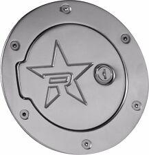 RBP Polished Aluminum Locking Fuel Door For 02-08 Ram 1500 02-09 Ram 2500 3500