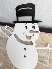 Metal Snowman Yard Stake