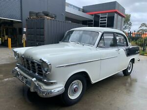1958 HOLDEN FC SPECIAL SEDAN MANUAL NOTABLE PREVIOUS OWNER RARE!!! 6000 MILES