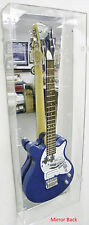 ACRYLIC GUITAR DISPLAY CASE with Mirror Back