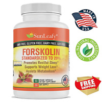 Forskolin Root Extract Potent Weight Loss Keto Diet Fat Burning   Made in USA