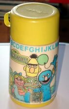 Thermos vintage collection Sesame Street Muppets 1983 Aladdin USA Groover