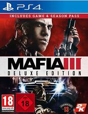 PS4 Mafia III 3 - Deluxe Edition NEU&OVP Playstation 4 Paketversand