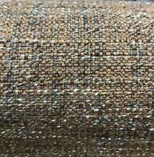 Fabricut Irish Linen Gargoile Teal Tweed Upholstery Fabric By The Yard