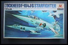 Hasegawa 1/32 U.S.A.F. LOCKHEED STARFIGHTER F-104J/G Plastic Kit