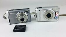 Fujifilm Finepix Digital Camera Lot F45fd And A700 Tested Working
