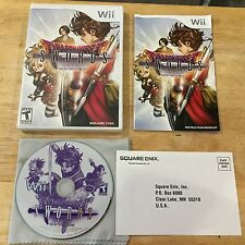 Dragon Quest Swords Nintendo Wii System Complete Game