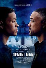 Gemini Man Movie Poster (24x36) - Will Smith, Mary Elizabeth Winstead, Owen v3
