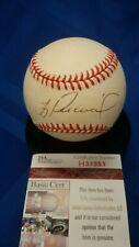 Troy Percival autographed AL Budig baseball. JSA authenticated.