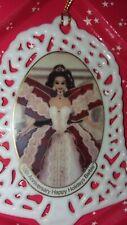 "1997 Mattel 10TH ANNIVERSARY HAPPY HOLIDAYS BARBIE Christmas Ornament NEW ""Mint"""